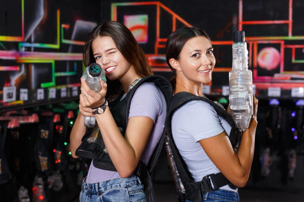 Aktywny prezent, laser tag, paintbal laserowy.