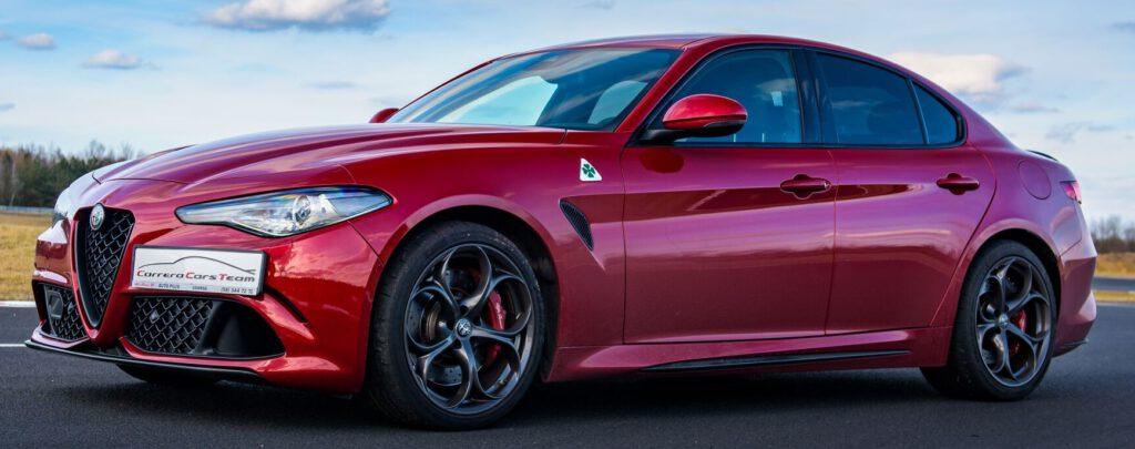 Alfa Romeo Giulia Quadrifoglio - super auto marzeń