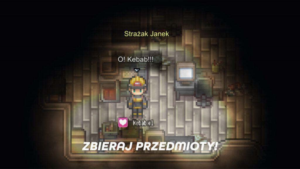 Screen ze spersonalizowanej gry komputerowej