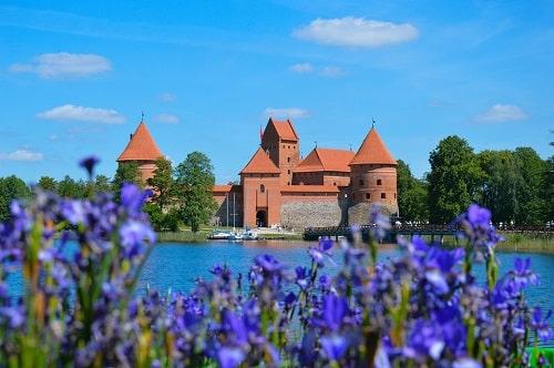TOP 8 przeżyć na Litwie - zamek w Trokach
